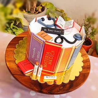 Doctor theme cake - Cake by Arti trivedi