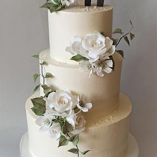 Weding cake - Cake by Jitkap