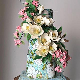 Magnolia cake....
