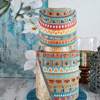 Egyptian couture - Cake by Couture cakes by Olga