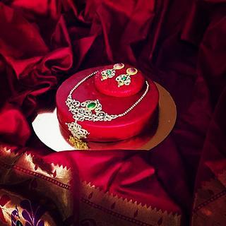 Jewellery themed cake - Cake by GiggleBellies