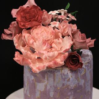 Anniversary cake - Cake by pam02