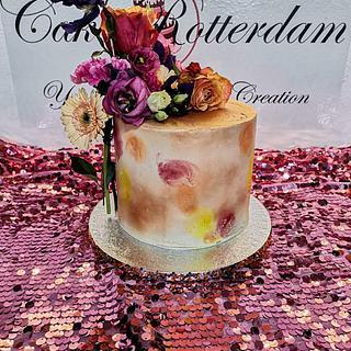 Dusted cake - Cake by Cake Rotterdam