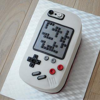 Retro Tetris cake  - Cake by Janka