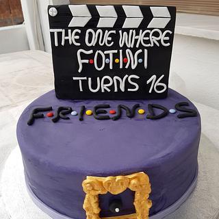 FRIENDS BIRTHDAY CAKE - Cake by Rena Kostoglou