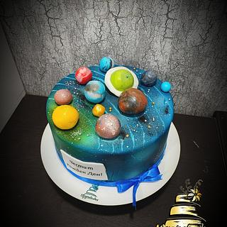 Galactic cake - Cake by Tsanko Yurukov