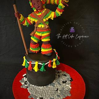 Caretos de Podence- Portugal Wonders in Sugar - Cake by Cristina Arévalo- The Art Cake Experience
