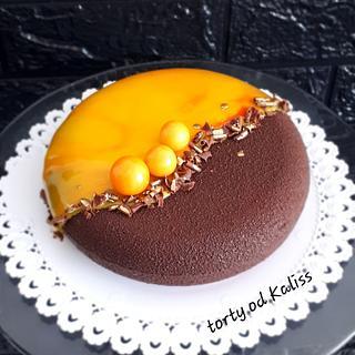 Mini cake for coffee
