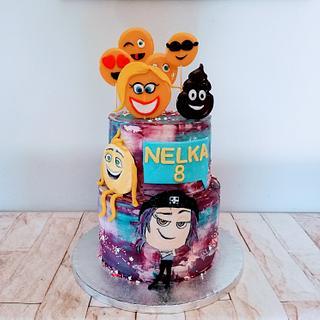 Emoji story  - Cake by alenascakes