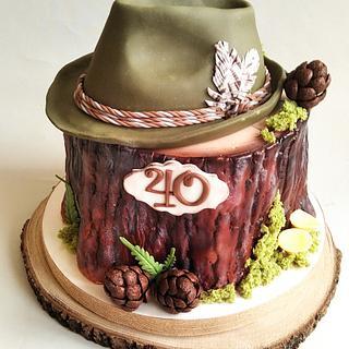 For hunter - Cake by Jitkap