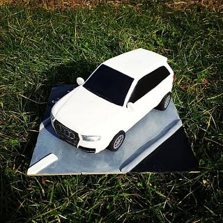 3D car Audi cake - Cake by MRcakes