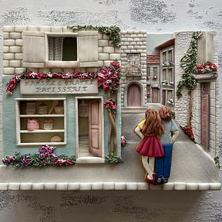 Once Upon Today Hansel&Gretel - Cake by Çiğdem Tayan