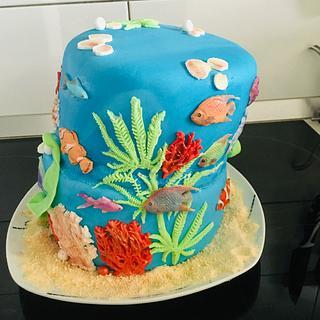 Sea world cake - Cake by VVDesserts