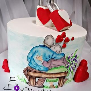 Cake.......Forever love