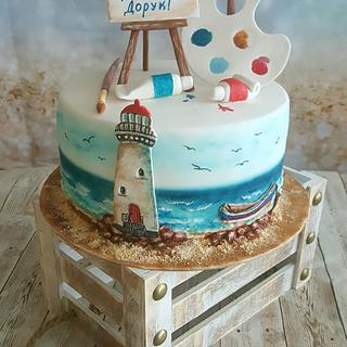 Cake'On the shore'