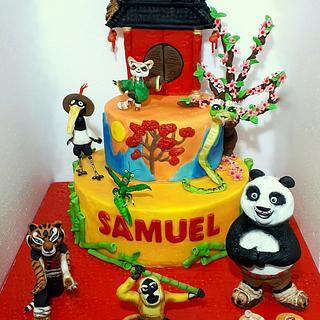 Kung Fu Panda  - Cake by Valentina Majella
