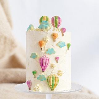 Air balloon cake