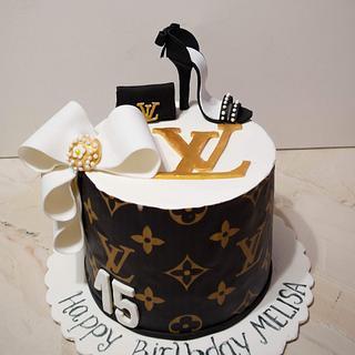 LV cake - Cake by TortIva