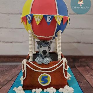 Hot air balloon - Cake by Cake Of The Art