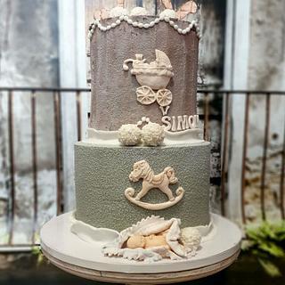 Rocking hoop cake:) - Cake by SojkineTorty