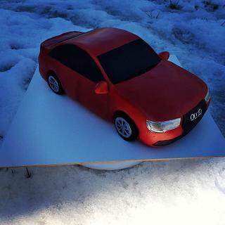 3D car cake Audi B8.5