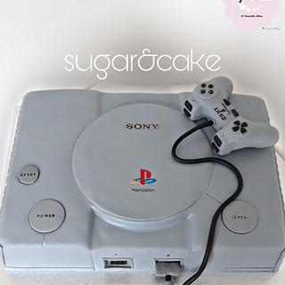 Playstation 1 cake
