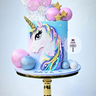Unicorn Cake  - Cake by Color Drama Cakes