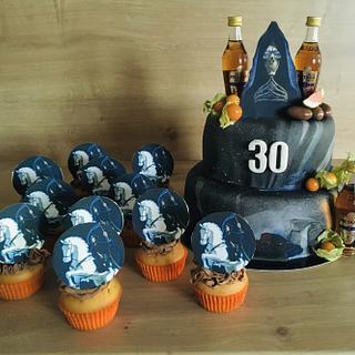 Discworld Death cake - Cake by VVDesserts