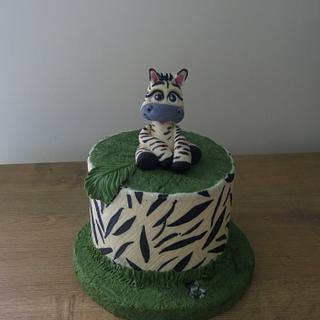Little Zebra Cake - Cake by The Garden Baker