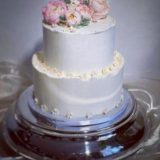 Wedding style cake - Cake by SLADKOSTI S RADOSTÍ - SLADKÝ DORT