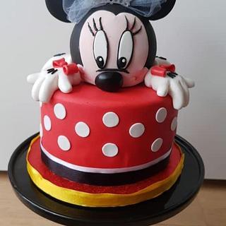 Mouse cake - Cake by Janny Bakker