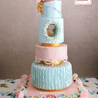 wedding cake - Cake by mona ghobara/Bonboni Cake