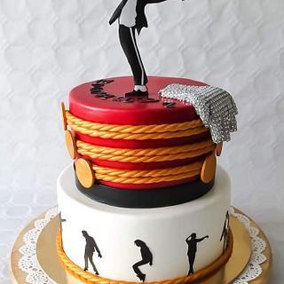 Michael Jackson cake - Cake by TartaSan - Damian Benjamin Button