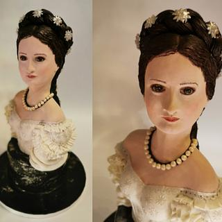 Sissi - Empress Elisabeth of Austria - Help with Cake Collab