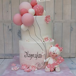 Karina's cake... - Cake by BULGARIcAkes