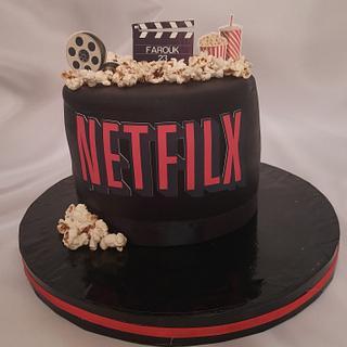 """""""NETFILX Channel lovers cake"""""""