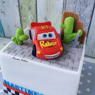 McQueen - Cake by Kmeci Cakes