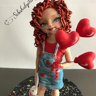 Sweet ginger girl