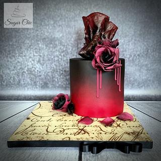 The Vampire Diaries Cake - Cake by Sugar Chic