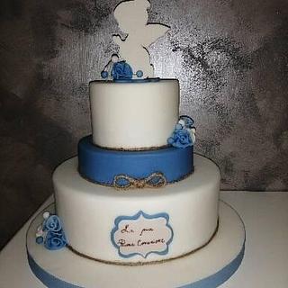 Angel cake - Cake by Adele