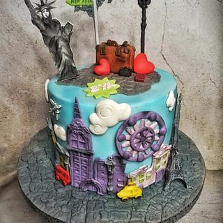 Traveler's cake