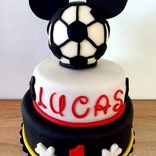 Mickey a futbal
