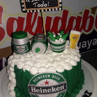 Pastel de cerveza club
