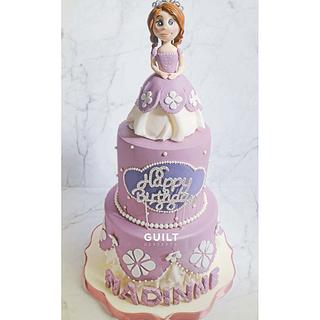 NOT Princess Sophia Cake