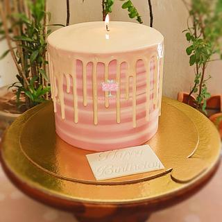 Candle cake - Cake by Arti trivedi