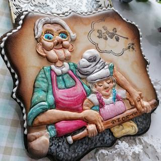 Babcia nauczycielka  - Cake by Beata