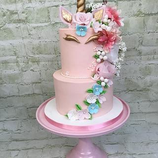 Unicorn Cake - Cake by Sweet Lakes Cakes