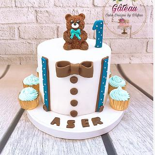 Teddy bear cake - Cake by Wafaa mahmoud