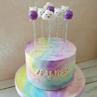 Isomalt Lollipops (True and Rainbow Kingdom)  - Cake by Make & Bake Türkiye