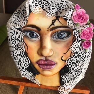 Mujer sefardí  - Cake by Yolanda